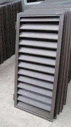 L'extérieur de l'aluminium avec Low-Noise aveugle de ventilation