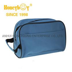 スポーツの靴の袋袋600d PVCポリエステル屋外旅行によってファスナーを絞める袋