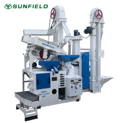 آلات زراعية كاملة مجموعة الأرز المطحنة / آلة التفريز