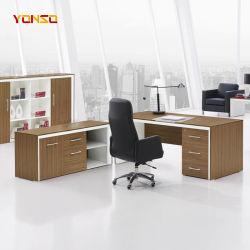 Tabella esecutiva dello scrittorio di legno della sporgenza del fornitore delle forniture di ufficio
