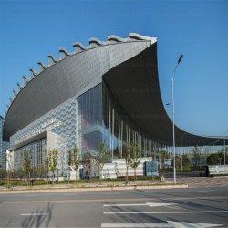 Formas especiais de marca Jdcc Arc prédio de estrutura de aço