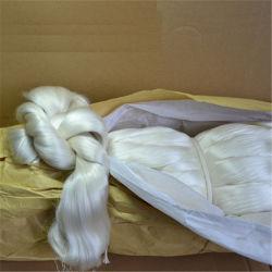 4A 5A الحرير الأبيض الطبيعي Yarn الحرير البري النقي