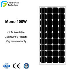 100W 18V Sun Power Green Energy PV Mono Solar Moudle