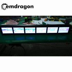 Cabeça de táxi de 9 polegadas LCD Digital Signage Publicidade publicidade multimédia Quiosque do visor LCD de Design Digital Signage