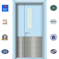 Lamellenförmig angeordnete Tür der HDF/MDF Schule-Tür-HPL (HD-TA-002)