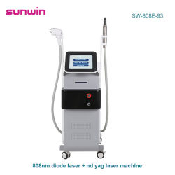 Newest 532 1064 1320 Blackdoll Qswitch ND Yag laser picoseconde 755 Nm Tattoo dépose Diode Laser de rajeunissement de la peau sèche Remover Machine