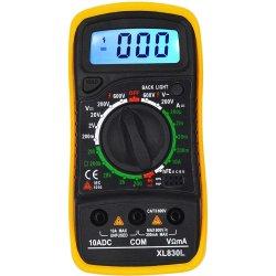 Multimètre numérique voltmètre ampèremètre multimètre la tension AC/DC AMP Testeur de résistance actuel
