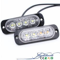 ضوء شعار السيارة على شكل مصباح ضوء المصابيح الأمامية بتقنية الضوء