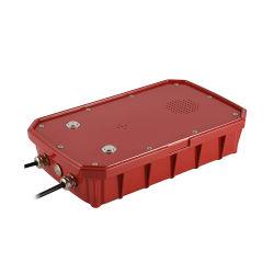 Citofono Handsfree robusto resistente del telefono della manopola automatica di telefonia del metallo contabilità elettromagnetica della lega di alluminio