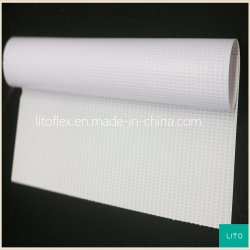 240GSM 물자 인쇄를 위한 PVC에 의하여 박판으로 만들어지는 Frontlit 코드 기치 (LT010)