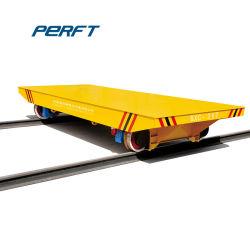 Chariot de manutention des chemins de fer électrique pour le fret Lieu de stockage différents