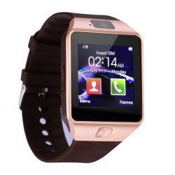 Commerce de gros DZ09 Smart unisexe Watch Android téléphone mobile de la carte SIM