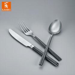 FDA/LFGB/EU het zwaargewicht die Diner van het Roestvrij staal met Uitstekende kwaliteit in de Was van de Spiegel/van de Steen/het Matte Eindigen wordt geplaatst
