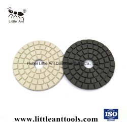 Flexible de la Résine d'outils diamantés tampons tampons de polissage de granit Buff