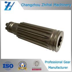 Asta cilindrica della scanalatura dell'attrezzo dell'asse del motore del pezzo fuso dell'acciaio inossidabile