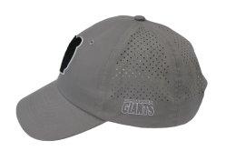 Kundenspezifische Art-unstrukturierter Sport-Schutzkappen-Hut 3D Stickerei gedrucktes Headwear mit Laser-Löchern