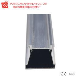 Profil d'alliage en aluminium anodisé avec traitement de surface que l'utilisation de feux à LED
