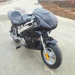 Venta caliente Mini Pocket moto 49cc Chopper con arranque eléctrico para el Parque de Atracciones
