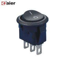 На Sub-Miniature электрических раунда 12V кулисного переключателя