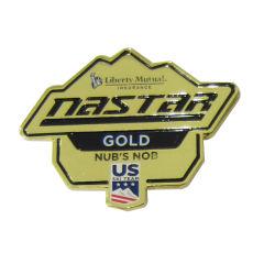 Рекламные моды металлические нас петличный стереомикрофон с золотым покрытием штифты (089)