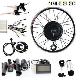 Гибкие высокая мощность 48V 1000W электрический двигатель ступицы преобразования велосипеда комплект с аккумуляторной батареи