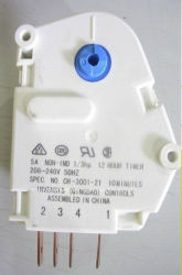 Temporizador de desembaciamento usado para equipamento frigorífico e congelador