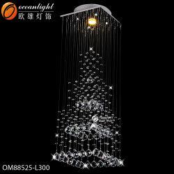 Le restaurant moderne en verre de la poignée de commande de la lampe LED lampe de l'ombre avec l'hôtel, restaurant ou le ménage