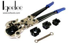 Gli strumenti di piegatura di Igeelee Ig-1632A con i dadi di U, Multi-Orientano il tubo che preme le pinze