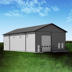 Vorfabriziert/fabrizierte galvanisiertes rostfreies einfaches zusammenbauen Stahlgebäude vor