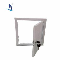 300x300mm Key Lock aço quadrada, porta de acesso do painel de acesso