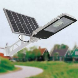 Lâmpada economizadora de energia de boa qualidade impermeável IP65 LED Solar Luz de Rua