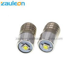E10 2-9V Base de la vis 5-30V CREE LED torche lampe de feu de mini projecteur la tête de lampe ampoule de lampe de poche