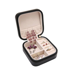 Petite boîte à bijoux BIJOUX cas Mini de l'Organiseur de voyage