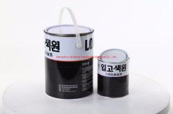 Peinture d'impression personnalisée contenant de l'huile de boîtes en métal de bidons d'encre 1L/5L