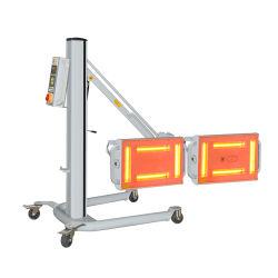 Résistant aux chocs Short-Wave Gold-Plated halogène Lampe infrarouge