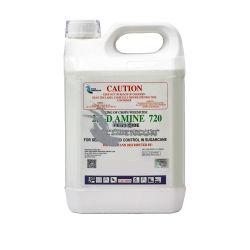 Les produits chimiques agricoles Étiquette personnalisée 2 4 D Amine sel 720 g/L SL contre les mauvaises herbes