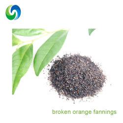 El estándar de EU sin contaminación de adelgazamiento Fannings orgánico de té negro té chino