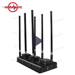 Les téléphones mobiles de brouillage fixes de drone de talkie-walkie Lojack GPS Bluetooth Wi-Fi couvrir 150m
