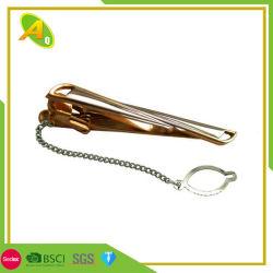 3D personnalisé de l'imitation métal or émail cadeau Tie Bar (012)