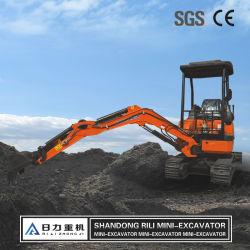 China barata excavadora cargadora retroexcavadora 2000kg miniexcavadora en venta