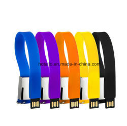Armband USB-Blitz-Laufwerk, SilikonWristband USB