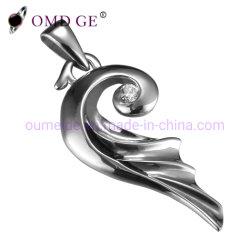 De zilveren Tegenhanger van de Juwelen van het Staal van Juwelen 316L
