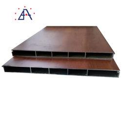Plancher bois Profil en aluminium grainé