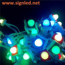 Alto brillo LED Publicidad a través del agujero de la luz de pixel
