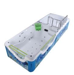 Bebé Piscina de niños juegos de diapositivas de fibra de vidrio de la piscina de hidromasaje Piscina Piscina de SPA acrílico
