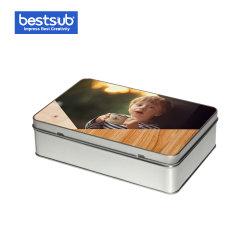 Bestsub Promocional de sublimação de metal retangular Candy Dom Caixa de estanho (TG01)