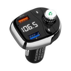 Snelle Last 3.0 Vrije Handen van de Speler van de Schijf van U van de Modulator USB van de Auto van de Uitrusting van de Auto Bluetooth van de Zender van de FM de Draadloze Dubbele MP3
