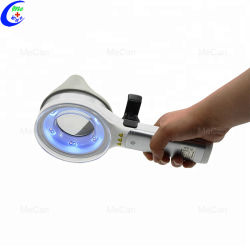 Портативные медицинские 365 нм дерева лампа для анализа кожи