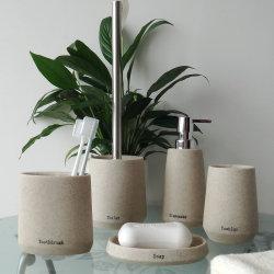 Excellent accueil polyresin decoration Salle de bains Set de montage (BP2390-YS)