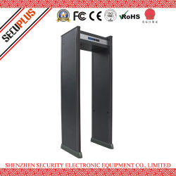 Serviço de Transporte do Portão de segurança SPW-300B a pé através do Detector de Metal